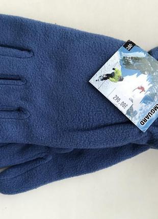 Перчатки флисовые зимние