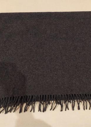Итальянский шерстяной шарф-палантин