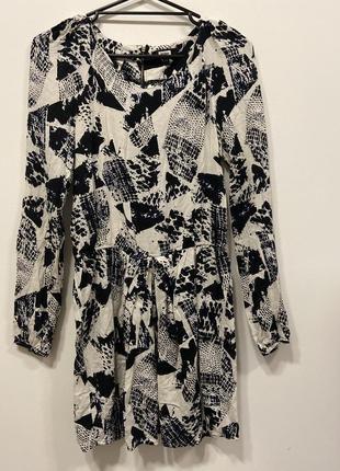 Блуза удлиненная bikbok p.xs #526. 1+1=3🎁