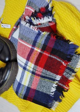 Стильни трендовий шарф плед