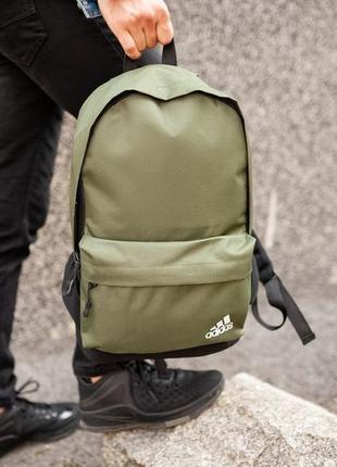 Рюкзак adidas 42х30см, адидас хаки.
