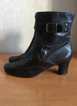 Ботинки кожаные gabor германия р.42 распродажа