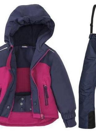 Зимний раздельный термо-костюм crivit pro для девочки