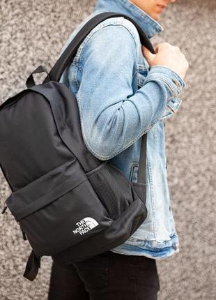 Рюкзак the nоrth fаce black , мужской черный 42х30см