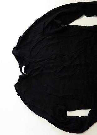 Фирменная трикотажная блуза лонгслив реглан