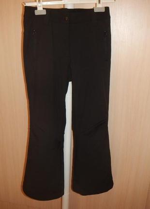 Трекинговые штаны etirel р.140см(10лет) softshell лыжные