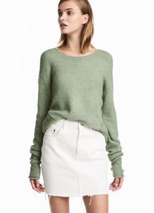 Мягкий вязаный джемпер пуловер свитер h&m