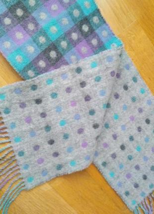 Шерстяной шарф в идеале