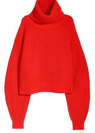 Оригинальный свитер из смесовой шерсти от бренда h&m