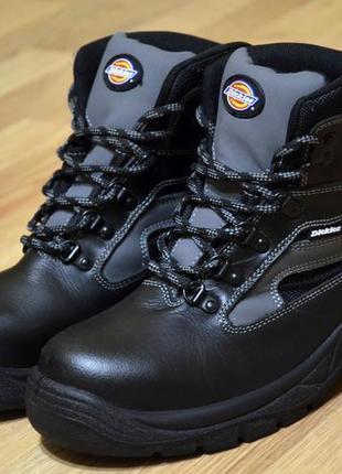Dickies, ботинки фирменные, кожаные зимние стильные