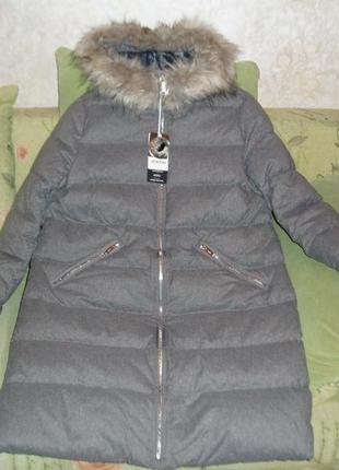 Пальто зимнее пуховое ostin