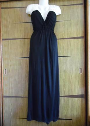 Платье «в пол» с ажурной спинкой atmosphere размер 18(46) – идет на 50-52.