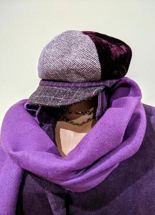 Набор кепи шарф кепка берет шапка