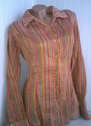 Cтильная итальянская рубашка / блуза / gf ferre / ittierre /