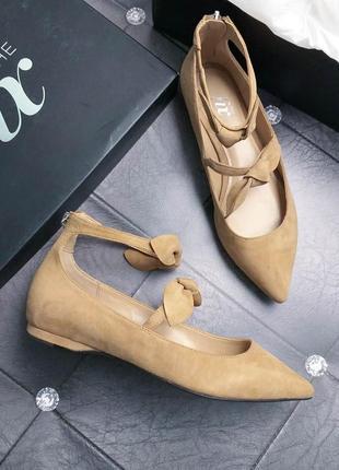 The fix оригинал замшевые туфли балетки