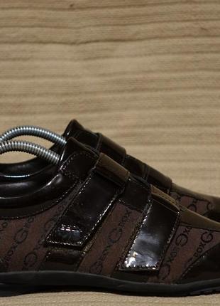 Эффектные комбинированные фирменные кроссовки geox respira италия 41 р