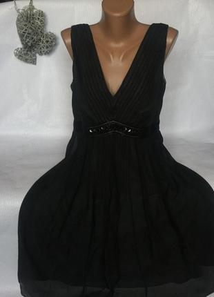 Шикарное платье шёлк 100%