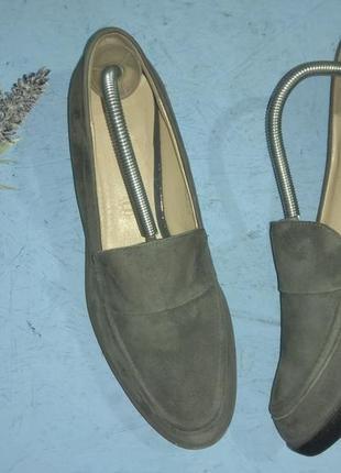 Замшевые туфли лоферы  footglove р 40