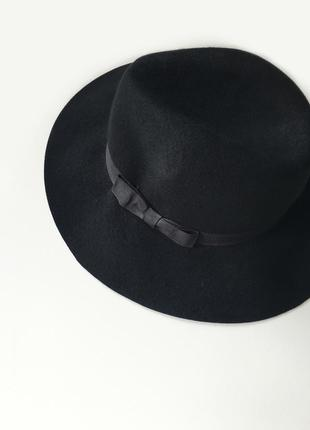 Шляпа, капелюх, 100% шерсть, шерстянная шляпа, шерстяний капелюх, stradivarius