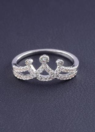 Кольцо 'big dipper' фианит (родий) 0559360