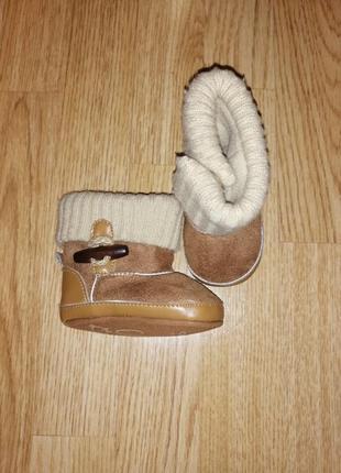Угги пинетки на мальчика девочку чоботи