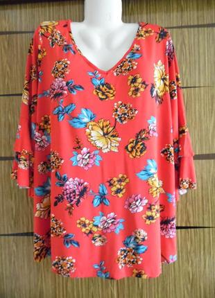 Блуза футболка батал george размер 22(50) – идет на 56-58