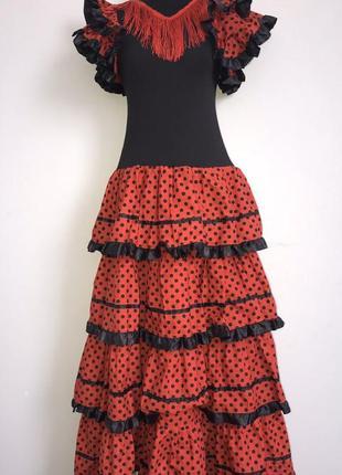 Испанка цыганка фламенко кармен 40-42 костюм