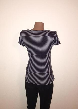 Базовая футболка в полоску fashion basic. s4 фото