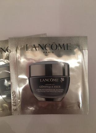 Lancome улучшенный крем genifique advanced для кожи вокруг глаз