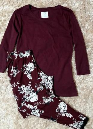 Пижама или костюм для дома английского бренда primark, анг. 6-8р. (евро 34-36 р.)