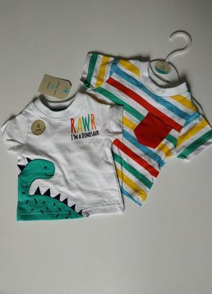 Детский набор комплект футболок 100 cotton crafted originals оригинал