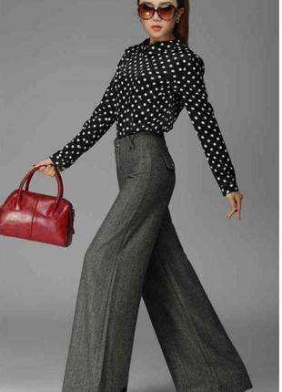 Стильные повседевные, классические брюки размер 8-10