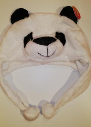Шапочка карнавальная панда