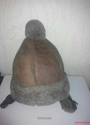 Шапка зимняя цигейка