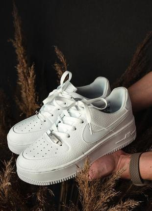 Кроссовки  air force sage low white