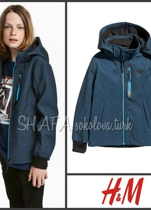 Термо куртка деми непродуваемая непромокаемая от 14 лет, 170см от h&m