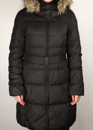 Фирменный зимний пуховик пальто
