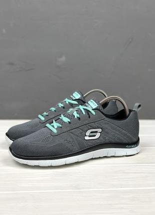 Спортивные кроссовки skechers flex appeal original 39 беговые женские
