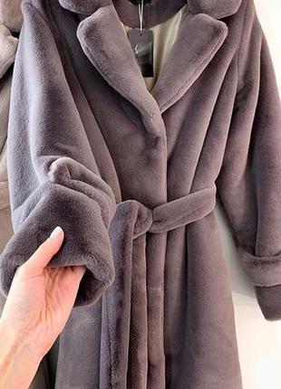Эко шуба мех tissavel (франция) индивидуальный пошив.