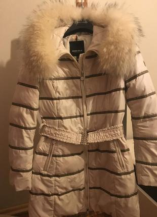 Пуховая куртка пальто