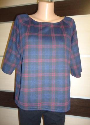 Блуза new look в клетку