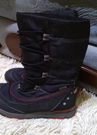 Зимние термо сапоги ботинки дутики super fit