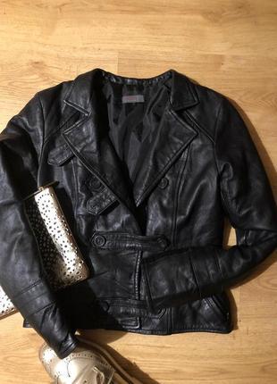 100% кожаная куртка