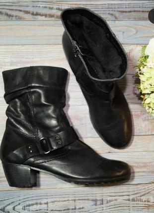 🌿40🌿европа🇪🇺zanon&zago. кожа. фирменные ботинки, полусапожки с европы