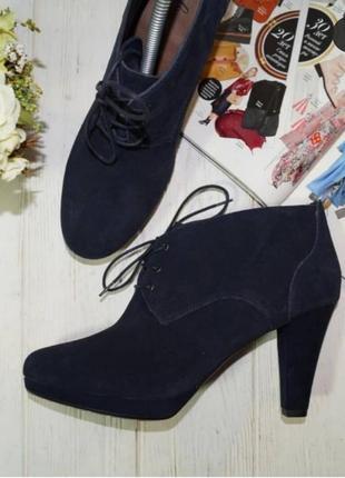 🌿41🌿европа🇪🇺 footglove. замша. красивые ботинки с европы
