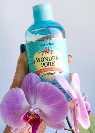 Etude house wonder pore freshner 10 in 1 - универсальный тонер