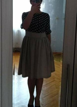 Платье в горошек dioni