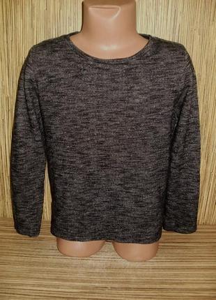 Тонкий свитер меланж на 6-7 лет
