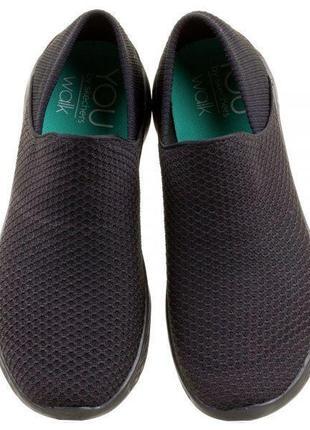 Skechers женские черные кроссовки, р. 37, 24,5 см