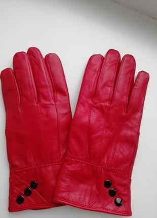 Фірмові шкіряні рукавички leather fashion!!!